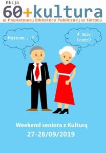 Plakat 60+ Kultura